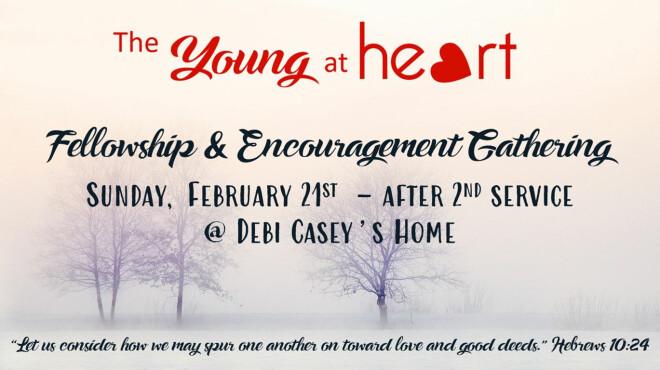 Young @ Heart Lunch & Fellowship