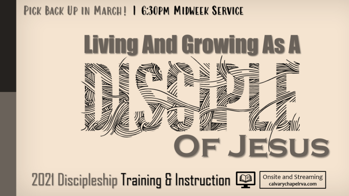 Discipleship Series Part IV