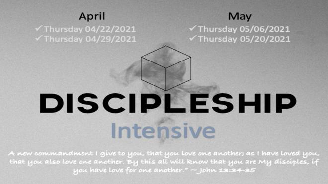 Discipleship Intensive
